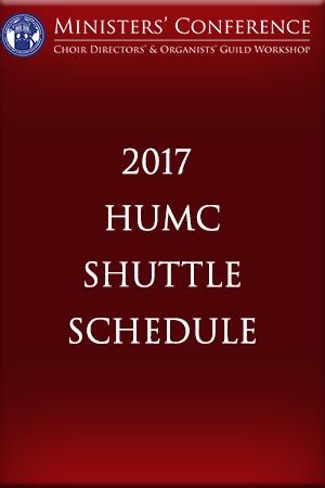 2017Huttle Schedule